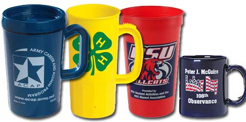 Union Made Cups and Mugs