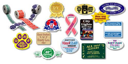 Union Made Lapel Stickers & Roll Labels